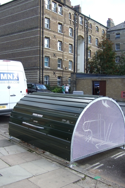 How to get secure cycle parking on your street