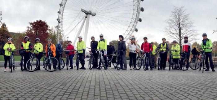 Healthy Ride + Report. 15 Nov 2014.