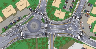 Consultation Plan - 2 roundabouts still
