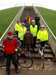 Healthy Riders at Stave Hill