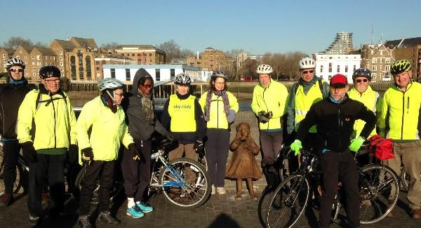 Healthy Ride Report, 13th Dec 2014