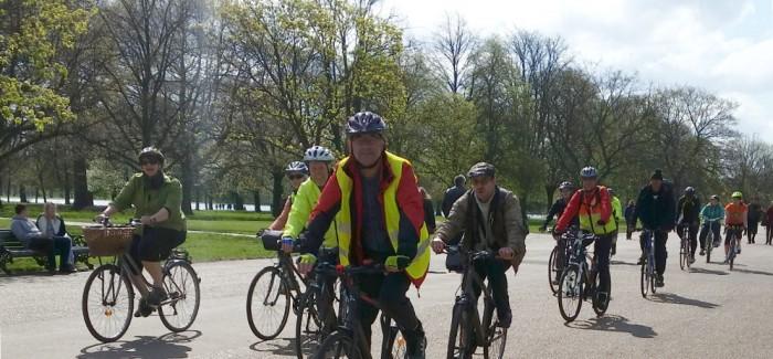Healthy Ride Report – April 18th 2015