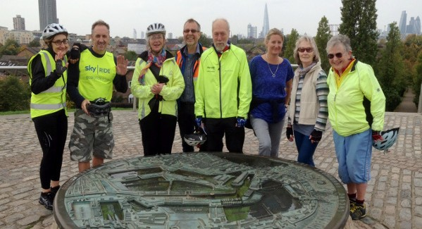 Rotherhithe Meander – Healthy Ride Oct 10th 2015
