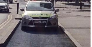 cop-Car_in_bike_lane