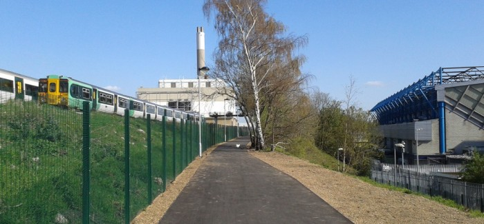 Millwall Cycle Path is Open