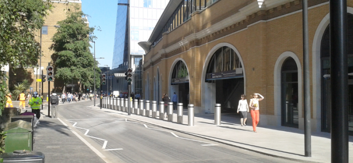 St Thomas Street (London Bridge) clear