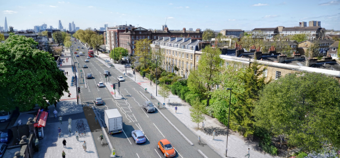 Old Kent Road AAP responses show support for cycle tracks