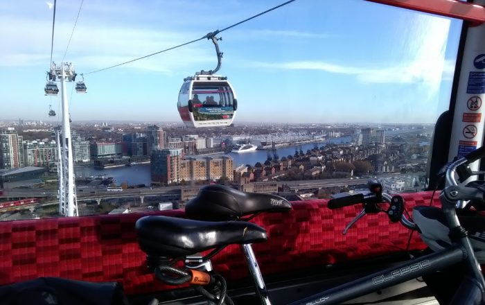By Air and Under Ground – a Non-typical Healthy Ride