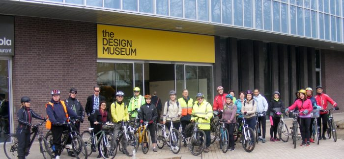 Healthy Ride Report – Burgess Park to Design Museum