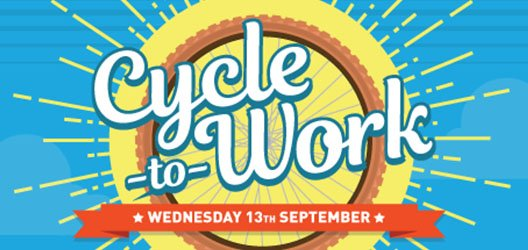 Cycle to Work Day Sept 13th – Lots of Prizes!