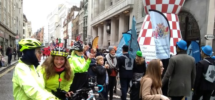 Lord Mayors Show Healthy Ride