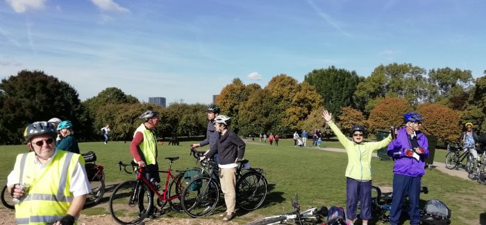60 Healthy Riders out on Saturday (29th Sept)
