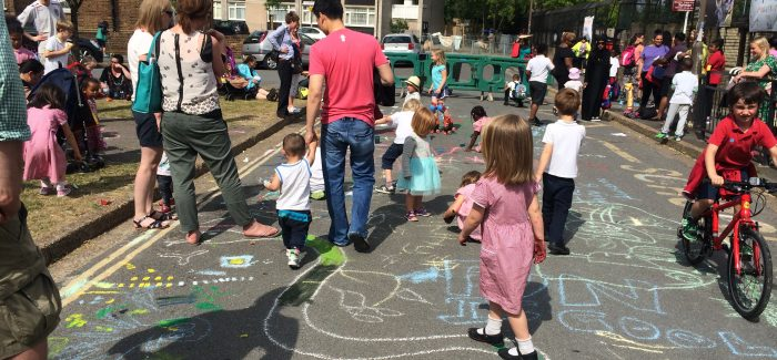 Make your school's street a play street for London car free day