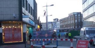 Rye Lane looking very closed indeed