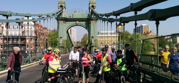 Bazalgette 2.  Burgess Park to Hammersmith Bridge.  Report.